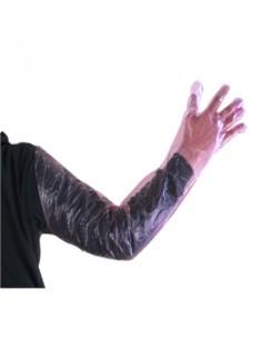 Γάντια Ώμου 90 εκ., Ρόζ, Υψηλής Ευαισθησίας
